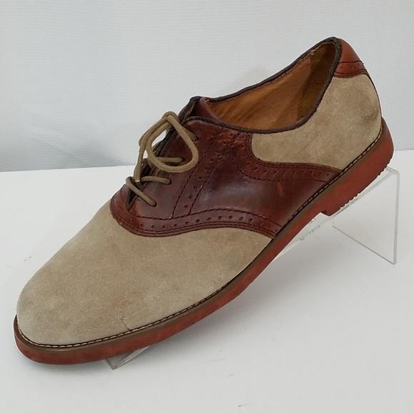 ae0d393b693d0 Dexter Other - Dexter 10 M suede tan   brown saddle oxfords